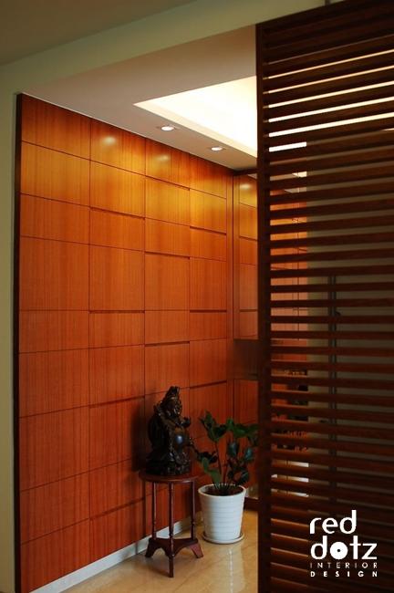 aman damai entrance foyer design 1