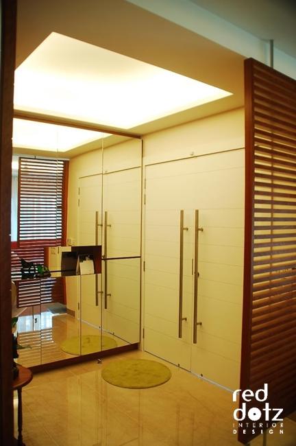 aman damai entrance foyer design 2