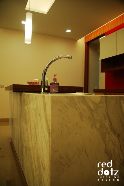 aman damai kitchen bar counter design 1