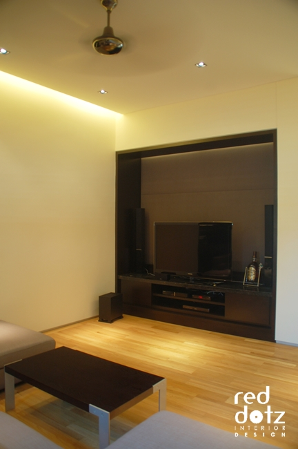 aman damai av room design 1