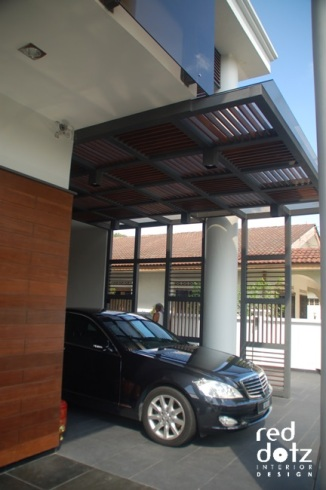 andalas residence car porch design 1