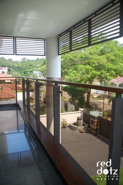 andalas residence glass balustrade design 1