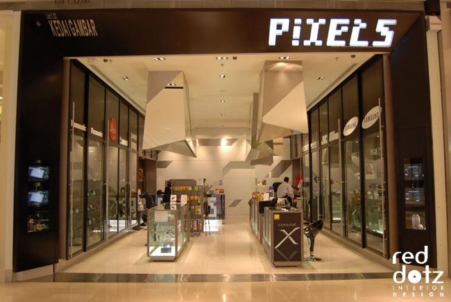 pixel camera shop facade design 1