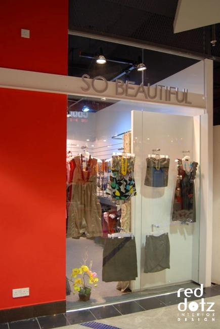 So Beautiful Retail Shop Facade Design 1