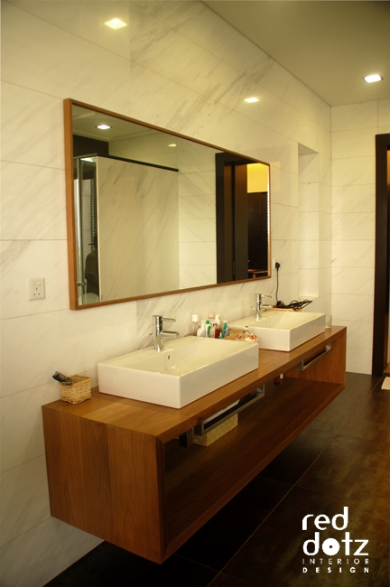 usj residence master bathroom design