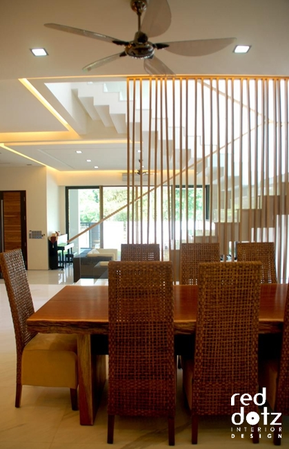 usj residence dining room design