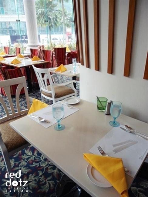 vogue cafe dining display set Kuala Lumpur Malaysia
