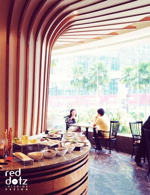 vogue cafe window dining area Kuala Lumpur Malaysia
