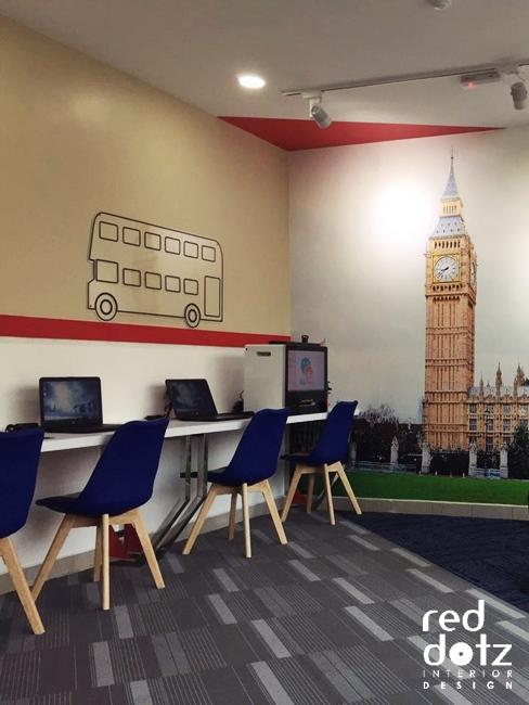 GELC English Language Center Interior Design Perak Malaysia
