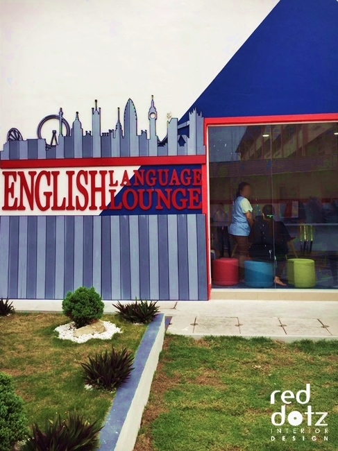 GELC English Language Center Facade Design Perak Malaysia