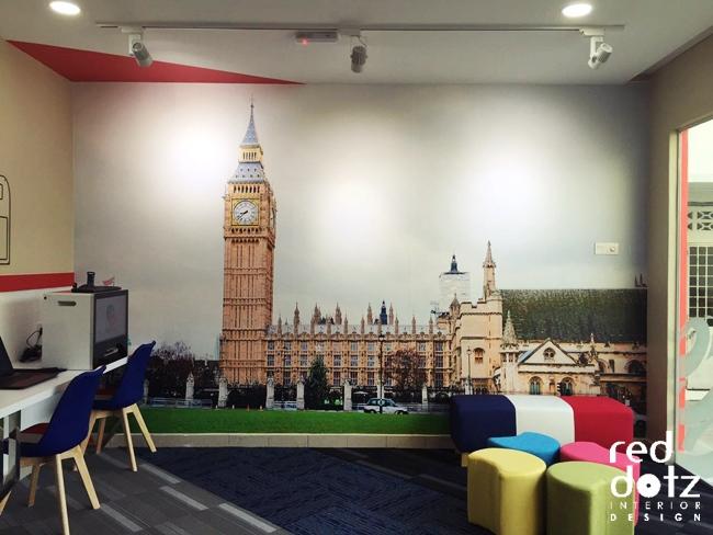 GELC British London Wall mural Perak Malaysia