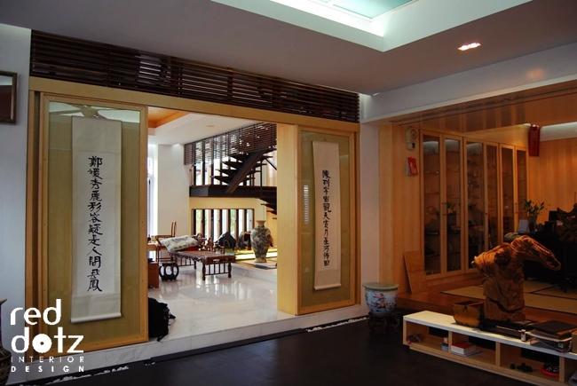 Bukit Tinggi Residence Foyer Design Klang Malaysia