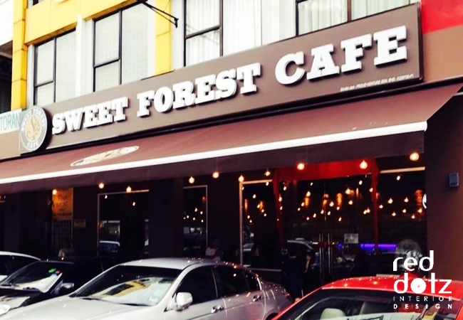 Sweet Forest Cafe Design Bandar Puteri