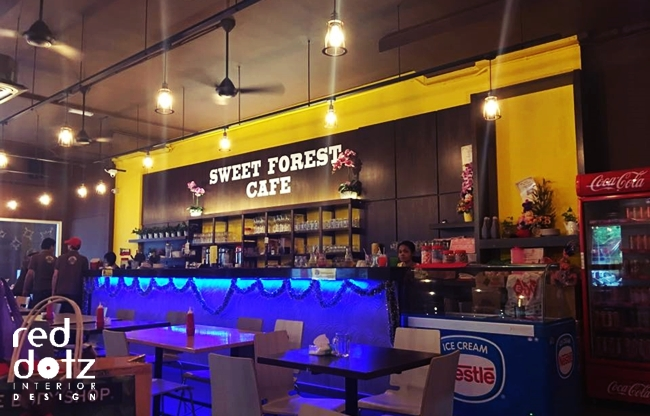 Sweet Forest Cafe Counter Design Kuala Lumpur