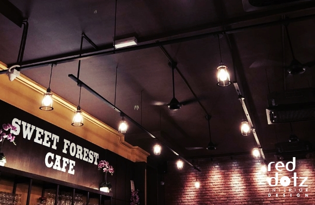 Sweet Forest Cafe Lighting Design Malaysia