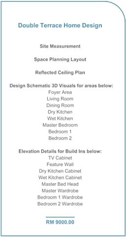Reddotz ID Terrance House Design Fee
