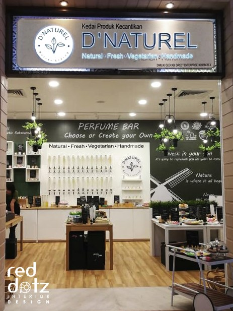 organic shop front design malaysia