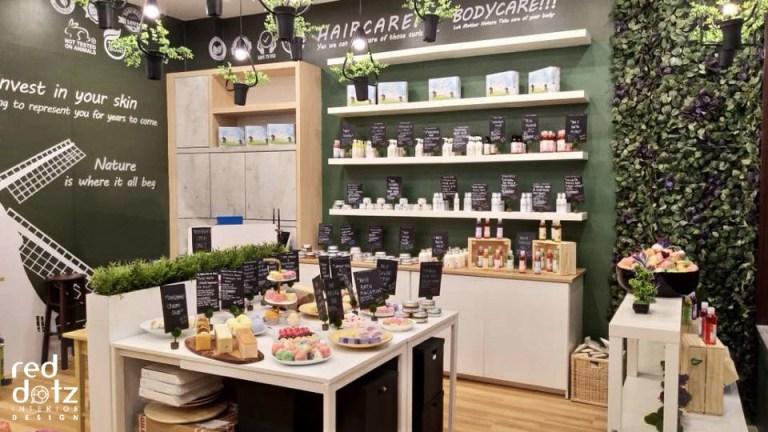 organic shop design malaysia